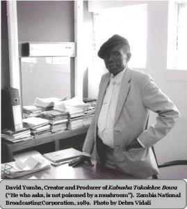 David Yumba in Office 1989 Vidali photo