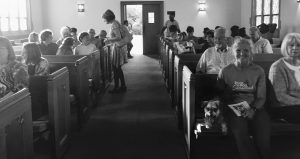 Photo of a pet blessing service