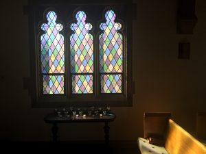 Photo of a prayer station