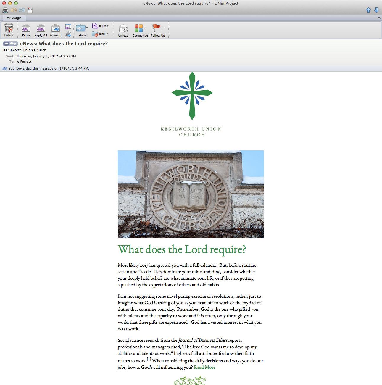 Do, Love and Walk: A Study in Faith & Leadership – Candler