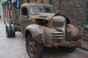 Photo of an old Dodge Truck