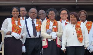 Ushers at Christan Fellowship UCC
