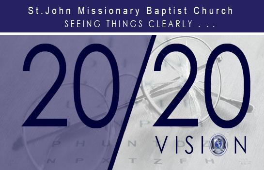SJMBC 20/20 Vision Banner