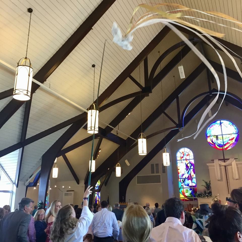 Congregation of Good Shepherd gathered in Easter Sunday