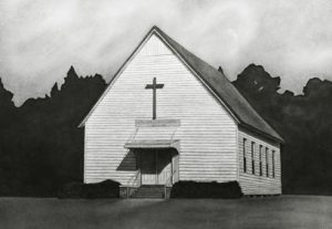 Beth-Eden Lutheran Church before its addition.