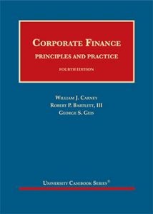 Corporate Finance Cover