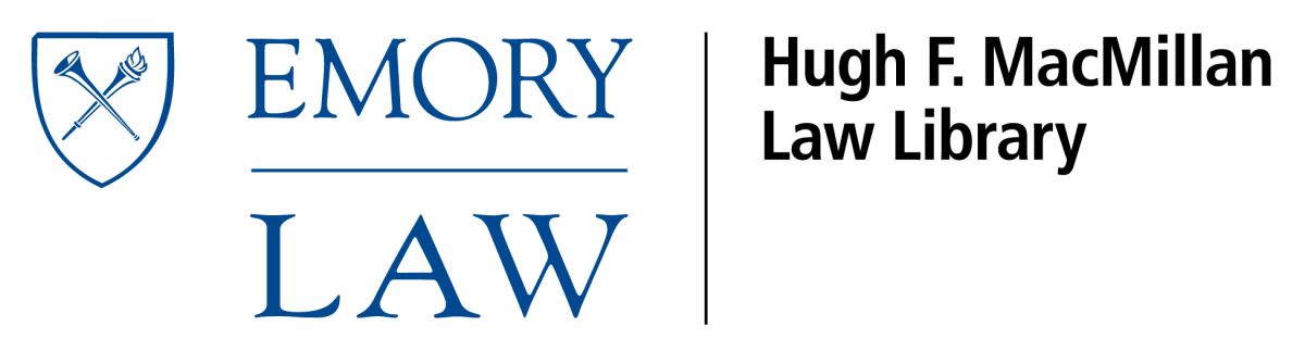 Emory Law Lib Logo