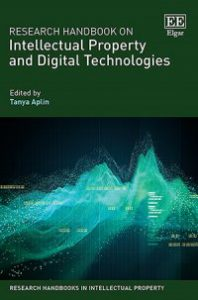 Research Handbook on Intellectual Property and Digital Technologies