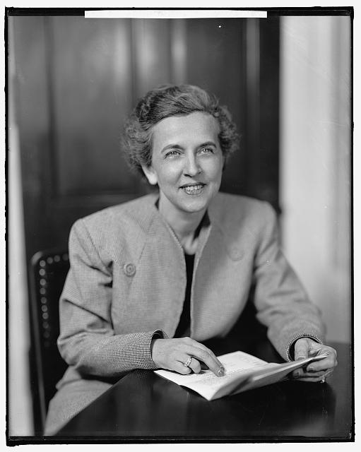 Helen Douglas Mankin, c1945, Courtesy of Library of Congress Prints and Photographs Division Washington, D.C.