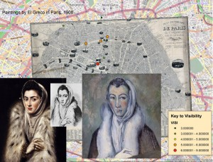 A Modern Old Master? Using Historical GIS To Chart El Greco's Influence on the French Avant-Garde