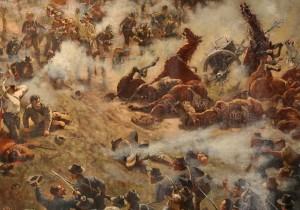 Battle of Atlanta Painting at the Atlanta Cyclorama