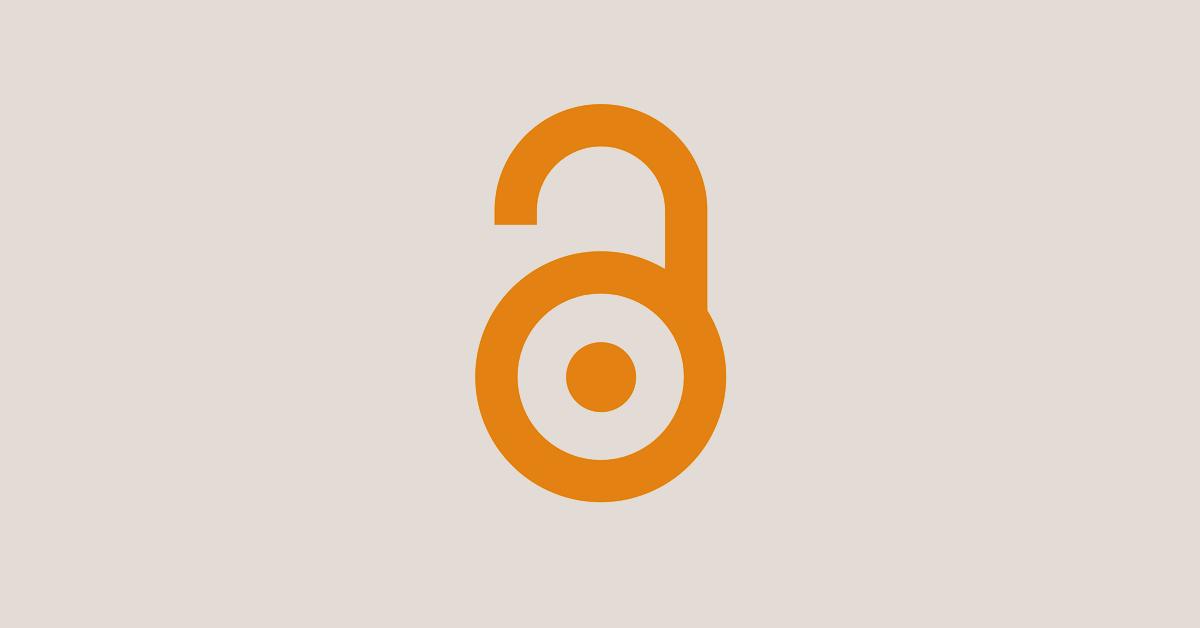 Banner featuring orange Open Access logo