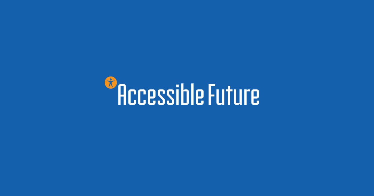 Accessible Future banner