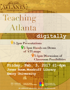 Teaching Atlanta Digitally Event - Friday, February 3, 2017