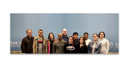 Banner featuring participants and instructors of TPC+R 2019