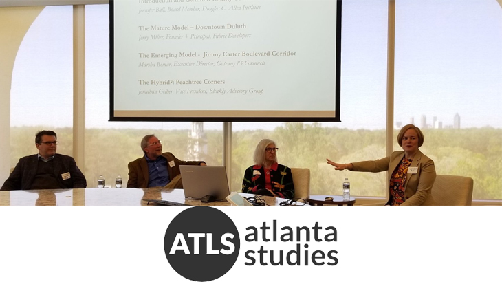 2018 Atlanta Studies Symposium panel on Urban Form in Gwinnett