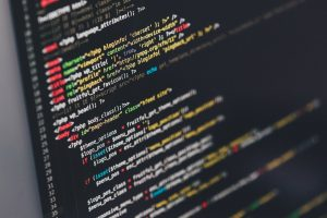 Image of computer code Photo by Ilya Pavlov on Unsplash