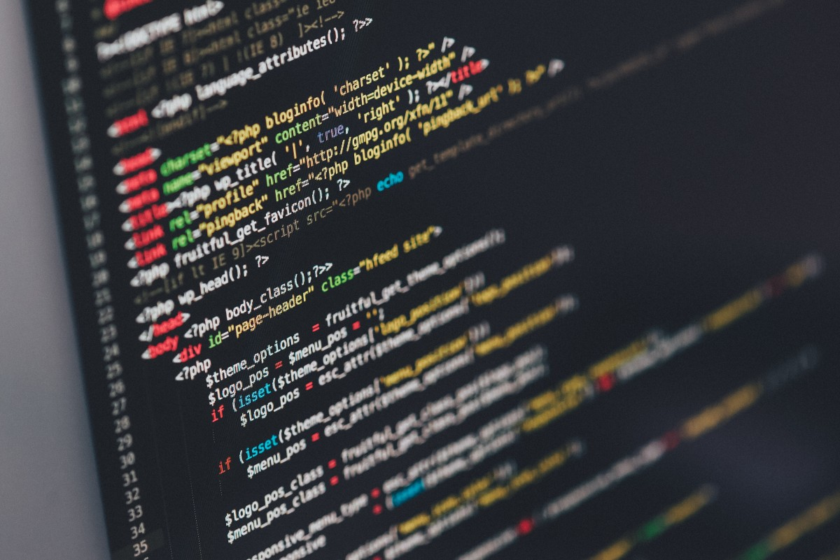 Image of computer code Photo by Ilya Pavlov on Unsplash