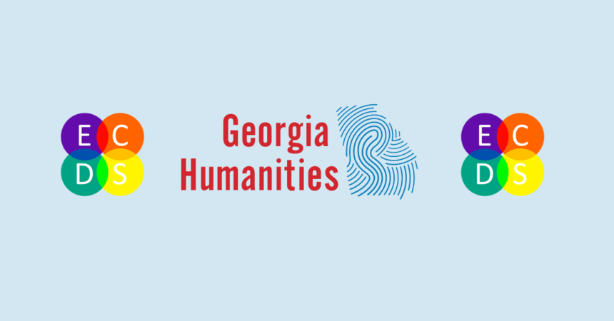 Banner featuring Georgia Humanities and ECDS logos