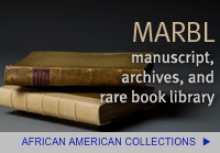 MARBL African American Collections Callout