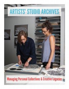 Cover of Artists' Studio Archive workbook