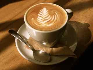 Octane Grant Park's cappuccino