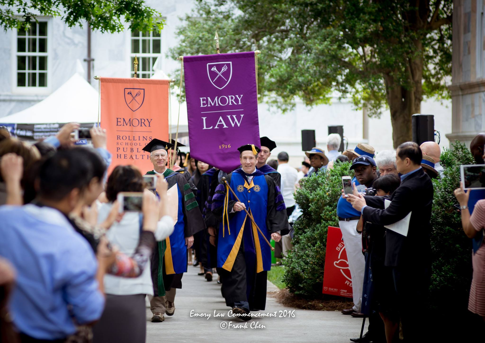Emory Law Commencement 2016 led by Professor Richard Freer, by Frank Chen.