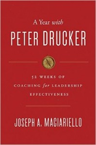 year with peter drucker