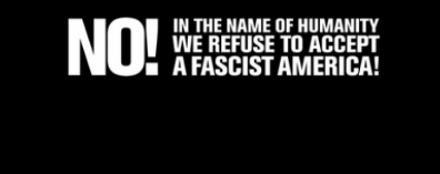screenshot from refusefascism.com
