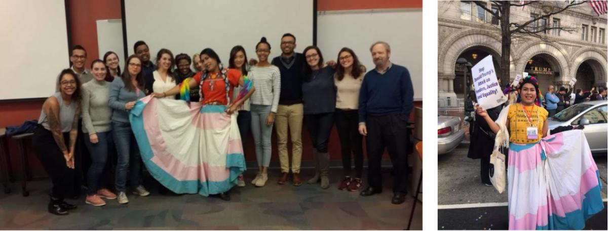 Guest speaker: Estrella Sanchez, October 25, 2018