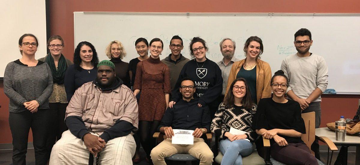 GCoP Class with Brother Haroun – November 1, 2018.