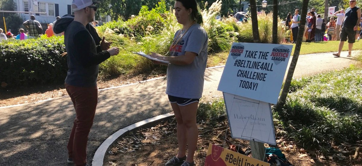 November 21, 2018: Emma Krass & Olivia Feeney from the Beltline for All campaign