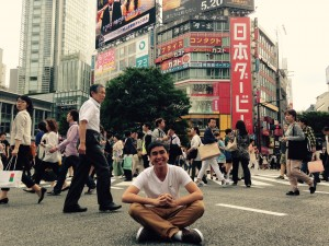 Justin in Tokyo Credit: Henkind