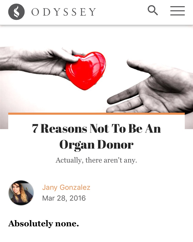 7 reasons not to be an organ donor anthropological perspectives