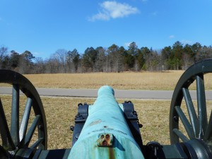 Behind Cannon