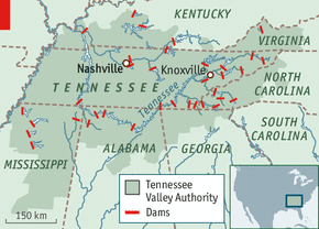Tennessee Valley and the Tennessee Valley Authority  Landscapes