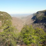 View from Cloudland Canyon State Park