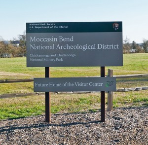 Moccasin Bend NAD Sign