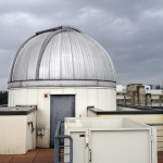 Photo of a roof view of the Emory Planetarium