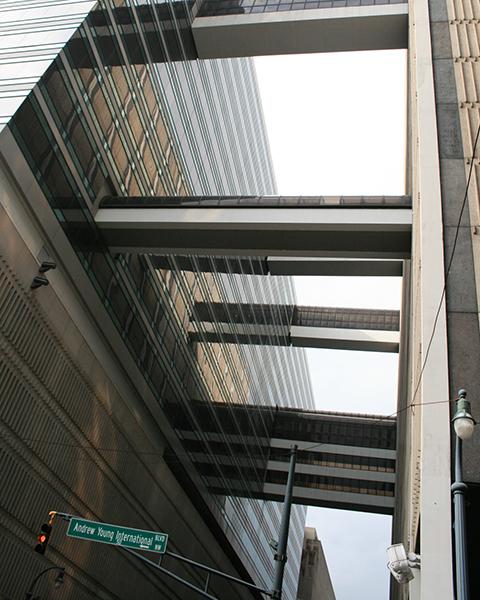 Exterior photo of 235 Peachtree Street, Altanta