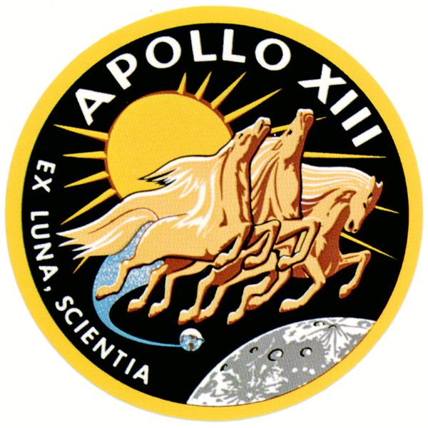 Logo for NASA's Apollo 13 Mission