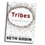 "Image of Seth Godin's ""Tribes"" book cover"