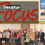 """Front page of the January/February 2013 issue of the """"Decatur Focus"""""""