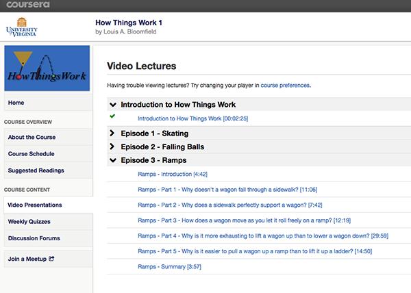 Coursera screen shot