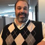 Photo of new employee Ryan Hewett
