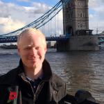 Photo of Derek Spransy in London