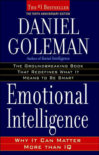 "Book cover for Daniel Goleman's ""Emotional Intelligence"""