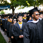 Photo of Emory's 2013 Commencement procession