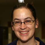 Photo of new employee Rebecca Sutton Koeser