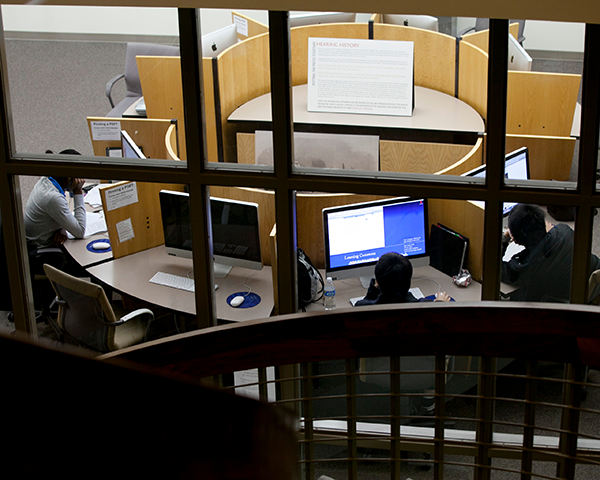 Photo of Woodruff Library study area